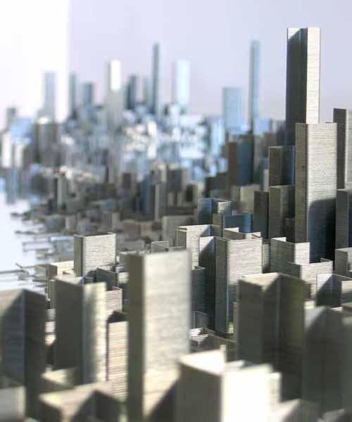 Город из скоб