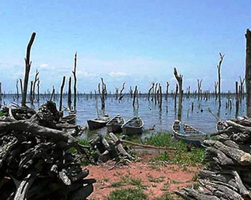 Озеро Волта
