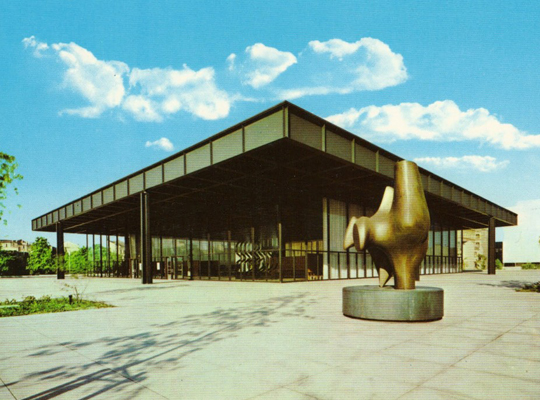 Берлинская Новая Национальная Галерея