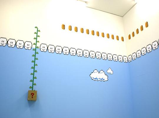комната в стиле марио