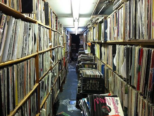 музыкальный магазин The Thing