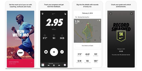 Nike+ приложение с элементами геймификации