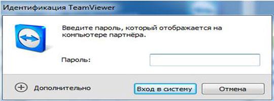 пароль в тимвивере для доступа на другой компьютер