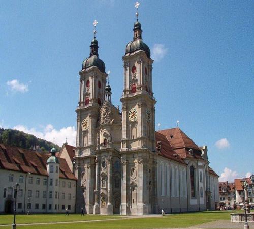 монастырская библиотека Святого Галла