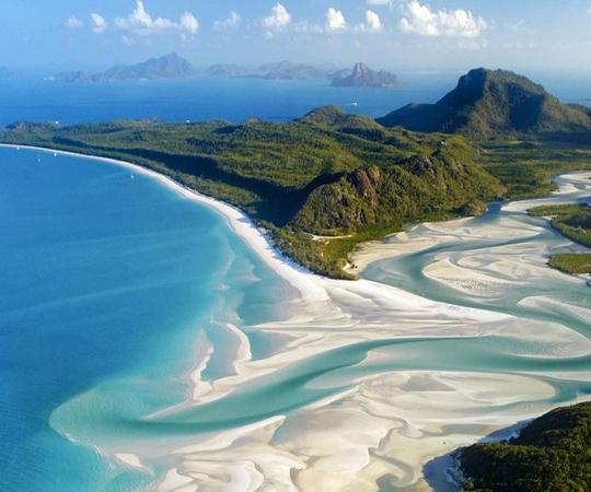 Белые пляжи в Австралии