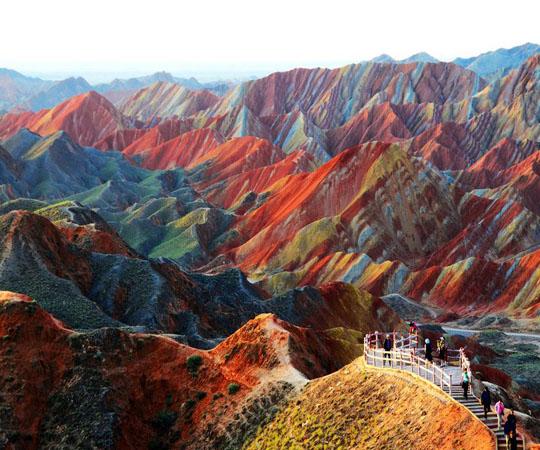 Красочные китайские горы, Чжанъе Данхиа