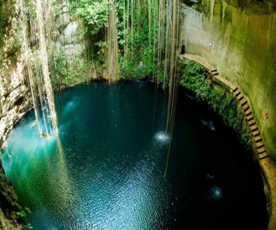 Подземные природные источники в Мексике