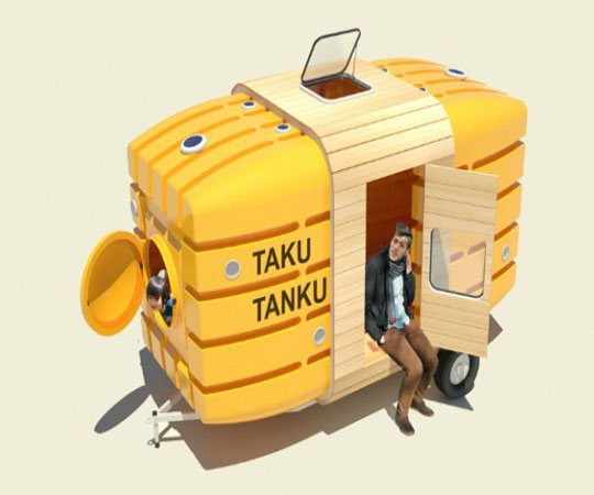 Трейлер для велосипеда Таку-танку