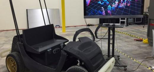 Автомобиль напечатанный на 3D принтере
