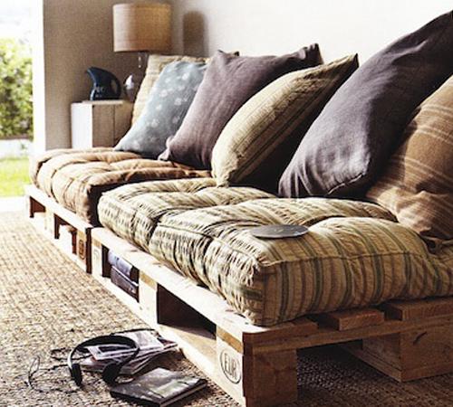 Pallet furniture sofa