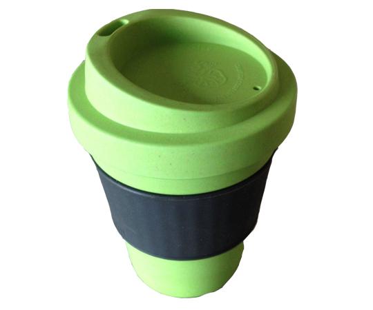 Многоразовый бамбуковый стакан для кофе и чая.