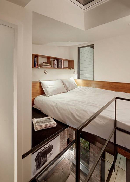 Современный кирпичный гостевой дом © Azevedo Design