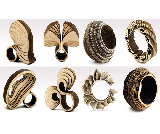 деревянные женские украшения