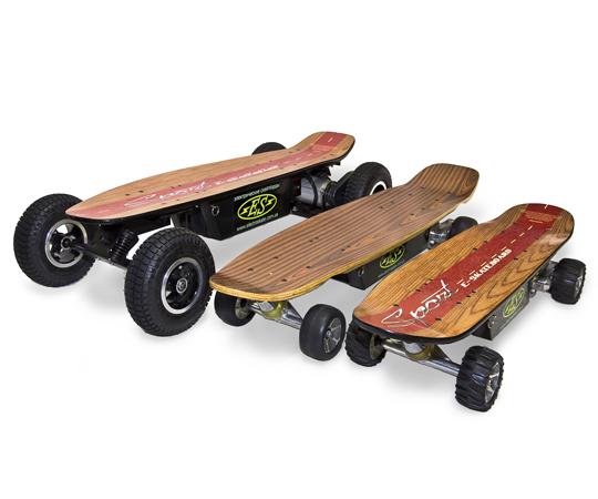 Электрический скейт (electric skateboard)