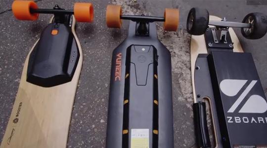 эллектрические скейты