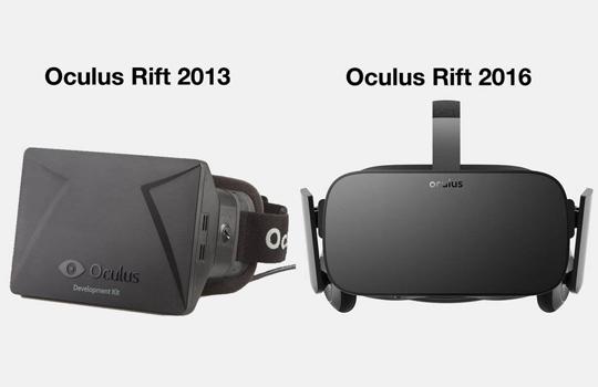 виды шлемов виртуальной реальности Oculus