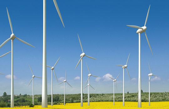 наземная ветряная электростанция