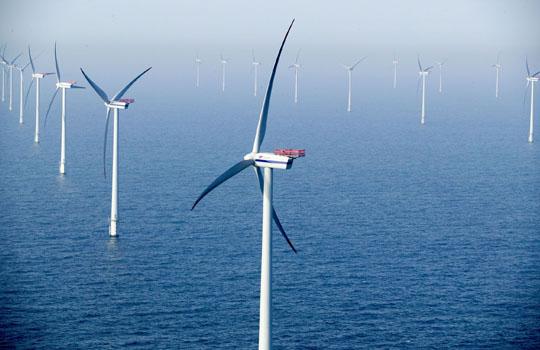 плавающая ветряная электростанция