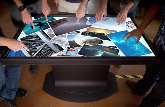 возможности сенсорного стола
