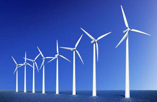 шельфовая ветряная электростанция