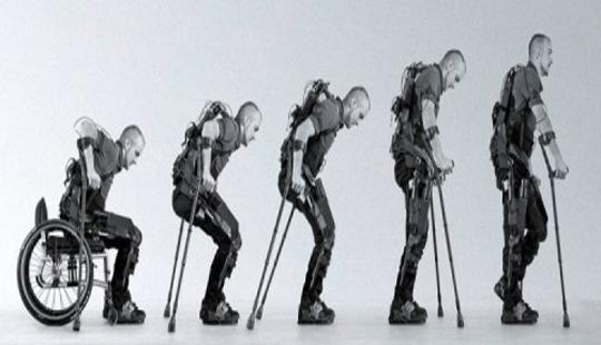 экзоскелет для инвалидов