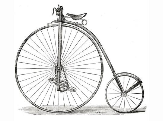 Велосипед Ефима Артаманова