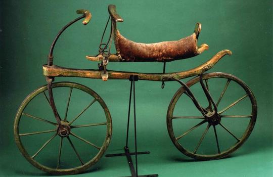 Велосипед барона Карла Дрезома (Karl Drais)