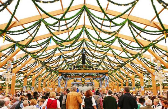 Октоберфест в Мюнхене Германия