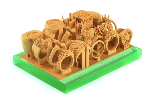 изготовление ювелирных изделий на 3д принтере
