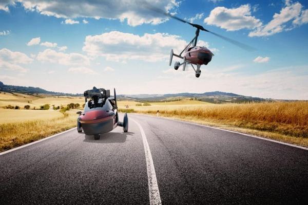 Летающий автомобиль PAL-V Liberty