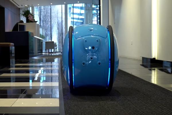 Персональный грузовой робот Gita
