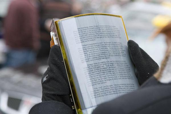 Электронная бумага – современный способ демонстрации информации