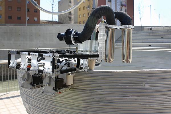 Строительный 3D принтер