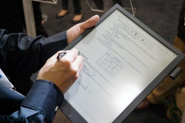 технология - электронная бумага