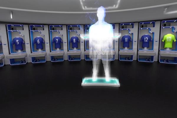 футбол в очках виртуальной реальности