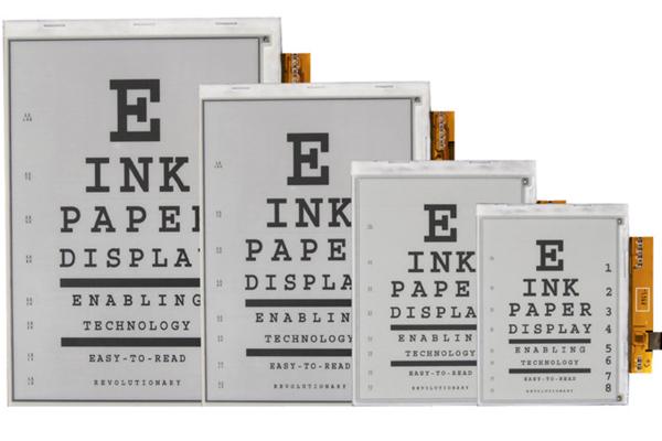 электронная бумага E lnk