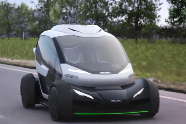 Автомобиль-дрон Pop