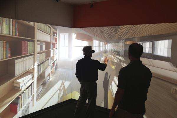 Визуализация интерьера в формате виртуальной реальности