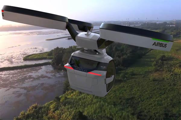 Летающий автомобиль будущего Pop