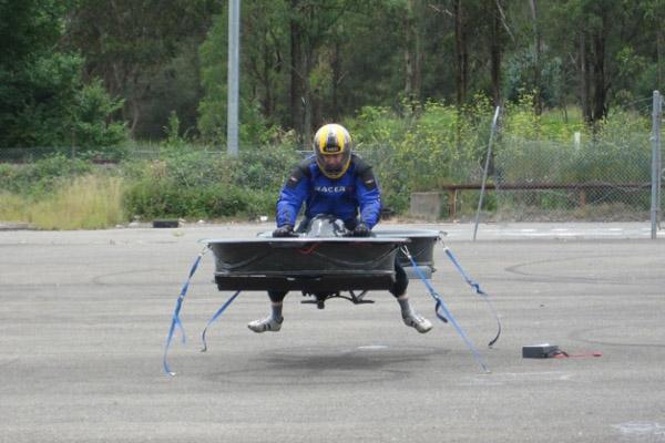 Ховербайк (Hoverbike) летающий мотоцикл