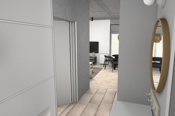 визуализация дизайна интерьера квартиры
