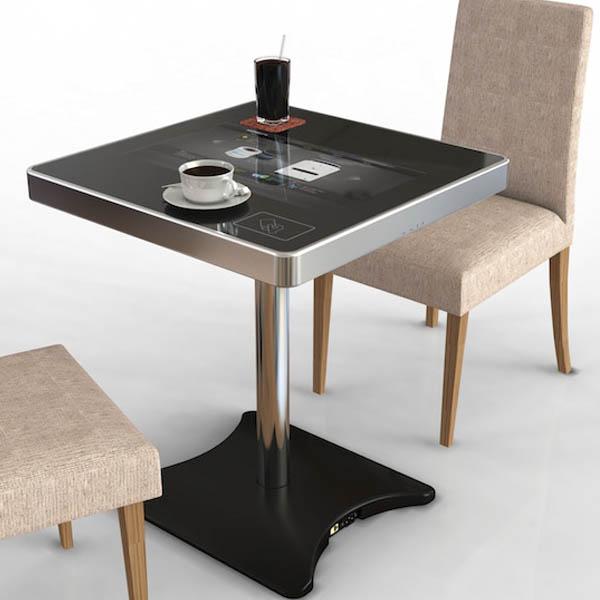 интерактивный сенсорный стол для кофейне
