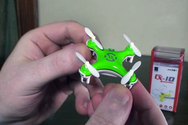 мини квадракоптер CX-10 mini quadcopter