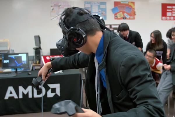 обучение в виртуальной реальности