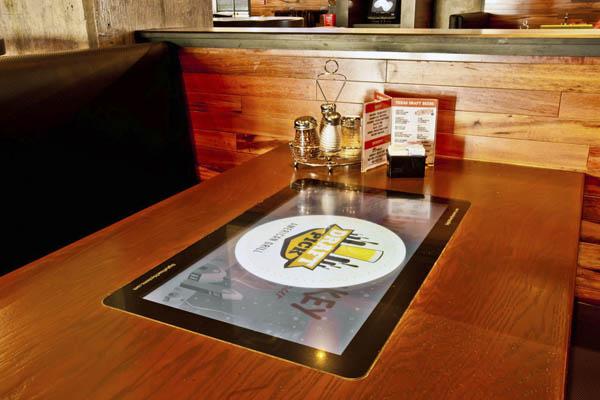 сенсорный стол для ресторана