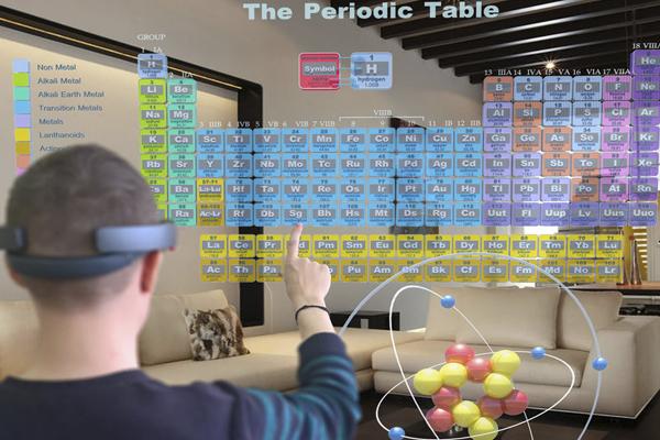 химия в очках виртуальной реальности