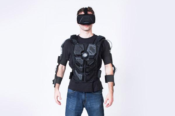 HardLight VR тактильный костюм