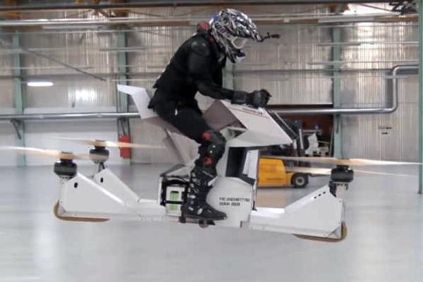 Scorpion 3 - ховербайк летающий мотоцикл из России
