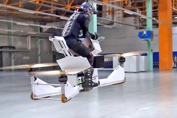 Scorpion 3 - ховербайк летающий мотоцикл