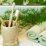 Зубная щетка из бамбука